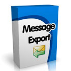 MessageExport extracts Outlook messages as PDF, MSG, EML, HTML, MHT, TXT, GIF, JPG, and TIFF formatted files, with profiles that allow additional processing after export.
