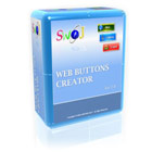 SWiJ Web Buttons Creator lets you create fully functional buttons for your website, from your own ideas or from an extensive gallery of  templates and themes.