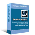 Excel to MySQL converts Microsoft Excel spreadsheets into MySQL databases automatically, with no manual data entry required.