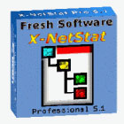 X-NetStat Professional brings network traffic monitoring into a brand new era of graphical interfaces and expanded features that surpass the netstat.exe command line tool.