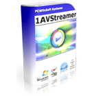 1AVStreamer lets you stream your webcam, appearing in high resolution video over the web in a customized page that's part of your own website.