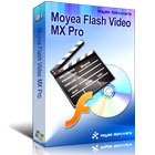 Flash Video MX Pro converts video in any file format (AVI, MP4, MP3, MOV, RM, RMVB, VOB, WMV, WMA, ASF, 3GP, MPEG, DVD, and more) into web-friendly Flash.