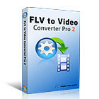 FLV to Video Converter Pro 2 takes online web videos in FLV format and transforms them into formats that play on your computers and mobile devices.