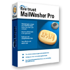 Mailwasher Pro is able to stop unwanted spam and virus-laden email messages before they're downloaded to your computer, on an unlimited number of email accounts.
