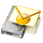 Backup Outlook creates a secure copy of your Outlook email messages, contacts, tasks, calendars, notes, journal entries, rules, and signatures, easily restored to a new computer.