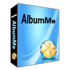 AlbumMe is an easy-to-use software package that lets you create Flash photo albums from your pictures - add transitions, captions, play music, use clip art, and more.