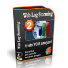 Using website server log files as input, Web Log Storming lets you analyze graphs and reports of goals and conversions, sessions, hits, page views, downloads, and much more.