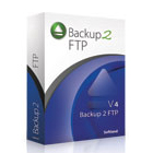 Backup2 FTP creates full, differential, and incremental backups that are conveniently stored on your remote FTP server in handy, space-saving ZIP archive files.