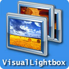 Visual Lightbox  lets you produce stunning online photo galleries without writing a single line of code, using drag-and-drop, one-click publishing, and automatic thumbnail creation.