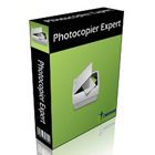 Photocopier Expert is a full fledged document management system that lets you scan, edit, resize, and rotate documents before saving, printing or transmitting them via email or fax.