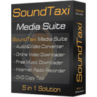 The SoundTaxi Media Suite is an all-in-one package featuring five different utilities that maximize your media collection - convert, rip, and download music and video content.