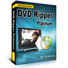 Wondershare DVD Ripper Platinum is the only utility you need to convert movies on DVD  to formats that are compatible with all major portable media devices.