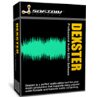 Dexster Audio Editor gives you the ability to edit audio tracks visually, extract audio from video and CDs, apply special effects, filters, and burn audio CDs.