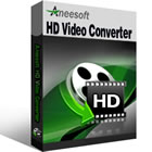 Aneesoft HD Video Converter converts between several HD video file formats, such as HD AVI, AVCHD M2TS, MTS, TS, HD MOV, HD WMV ,HD MP4, HD FLV, and more.