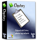 Clipstory saves every item that you copy to the clipboard, letting you quickly cycle through your entire history of copied text, files, images, audio and binary data.