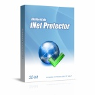iNet Protector lets you restrict internet access, either on demand, or at specified times, password protect your internet connection, and disable internet access after a set interval.