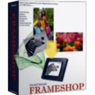 FrameShop compresses photos by as much as 90%, making it easier to upload them or email them as attachments.  Add frames, special effects, and more.