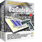 BarCodeWiz Barcode ActiveX Control generates barcodes with just a few clicks of your mouse, thanks to tight integration with Microsoft Office.