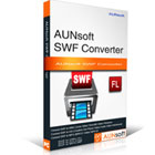 Aunsoft SWF Converter converts SWF files into a variety of popular audio and video formats for your portable player and game consoles.