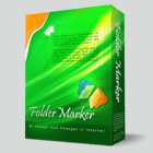 Folder Marker Home lets you mark your folders with color-coded and image-coded icons with a single mouse click.