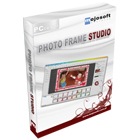Photo Frame Studio lets you edit and decorate digital images with over 200 customizable frames.