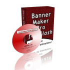 Create professional looking Flash banner ads, flash intros, and SWF files quickly and easily with Banner Maker Pro for Flash. No Flash experience required!