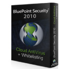 By simply blocking any 'unknown' files, BluePoint Security 2010 provides you with secure antivirus protection that doesn't depend on virus signature files or behavioral detection.