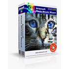 Artensoft Photo Mosaic Wizard produces true mosaics out of ordinary pictures using the actual colors in your photos and without resorting to color overlays.