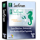 Use SeaGreen Software to easily create online forms, MySQL databases, and administration modules for your website, without any programming on your part.