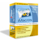 iMacros lets you create solutions for web automation, web scraping or web testing in minutes, replacing the tedium of manual tasks.
