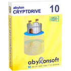 abylon CRYPTDRIVE lets you create software encrypted containers for your important files, locking them safely away using 256-bit and 448-bit encryption.