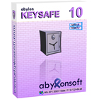 abylon KEYSAFE is an effective password manager that lets you manage secret and confidential data that's accessible by one password or physical key.