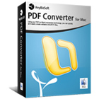 AnyBizSoft PDF Converter for Mac converts PDF documents to Office 2011, HTML, text, or ePub formats on your Mac, with support for multiple document conversion in batch.