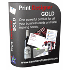 Comprehensive print design software lets you create business cards, mailing labels, envelopes, post cards, invitations, CD & DVD labels, and much, much more.