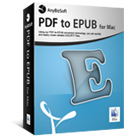 AnyBizSoft PDF to EPUB for Mac lets you convert PDF files to the ePub format, giving you the power to read them on your portable Apple device.