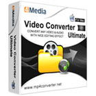 4Media Video Converter Ultimate for Mac lets Mac users convert media files between a vast number of audio and standard definition and high definition video formats.