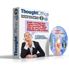 ThoughtOffice Brainstorming Software lets you explore fragments of ideas and the world's greatest minds to come up with your own innovative ideas quickly.