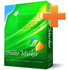 Folder Marker Pro and Everyday Folder Icons let you distinguish between folders by assigning different icons, colors, priorities, work status, or type of file.