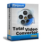 Bigasoft Total Video Converter for Mac lets Mac users quickly and easily convert between a multitude of popular video formats, suitable for all kinds of portable devices.