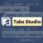 Tabs Studio is the best way to organize and customize Microsoft Visual Studio tabs, making all open document tabs visible as multiple rows.