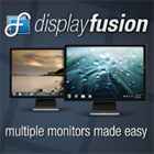 DisplayFusion offers you powerful features like multi-monitor taskbars, titlebar buttons, and hotkeys that are fully customizable to optimize your multi-monitor setup.