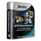 4Media iPad Max Platinum lets you transfer, backup, and share files between your Mac and iPad or other Apple mobile device.