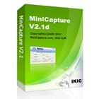MiniCapture is a screen recording and video conversion software. Use it to create demos, training videos, and much, much more.