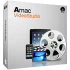 Amac VideoStudio lets you decode and encode video in over 150 video file formats in stunning HD as well as standard definition.