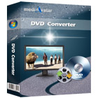 mediAvatar DVD Converter for Mac lets you rip and convert your DVD movies to video files in a variety of popular formats, at blazing speeds.