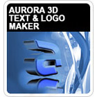 Aurora 3D Text & Logo Maker lets anyone craft stunning three-dimensional images quickly and easily with hundreds of included templates.