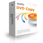 DVDFab DVD Copy lets you copy a DVD in just a few clicks, either to a blank DVD or to a folder or image file on your hard drive.