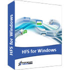 Paragon HFS+ for Windows 10.0 enables total communication between Mac and Windows machines, allowing full read-write access to Mac-formatted partitions from any Windows machine.