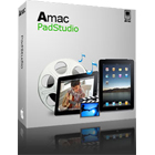 Amac PadStudio lets you convert and move videos, music, ebooks, PDF documents, and photos between your iPad, your Mac, and your other iPads, iPhones, or iPods effortlessly.