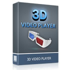 3D Video Player lets you enjoy any video in glorious 3D, using on-the-fly conversion and everyday anaglyph 3D glasses.